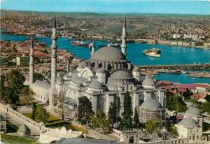 Turkey Istanbul mosque of Suleiman the Magnificent