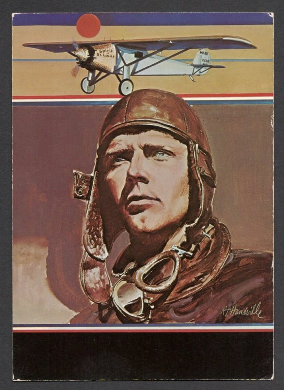 Charles Lindbergh - Post Card - US#1710 - First Day of Issue