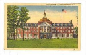Randolph-Macon Academy, Front Royal, Virginia, 30-40s