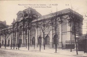 Manufacture Nationale des Gobelins, Le Musee, Propriete de la Societe Mutuels...