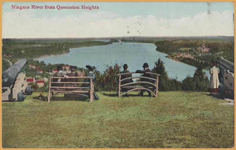 Queenston Heights, Ontario,  Canada - View of the Niagara River, 1911