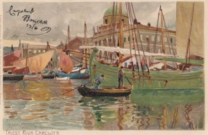TRIEST , Italy , 1899 ; Riva Carclotta