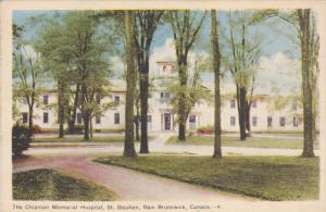 The Chipman Memorial Hospital, ST. STEPHENS, New Brunswick, Canada, 30-40s