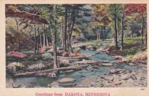 Minnesota Greetings From Dakota
