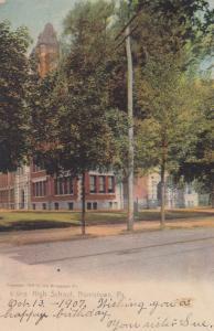 NORRISTOWN , Pennsylvania , 1901-07 ; High SChool