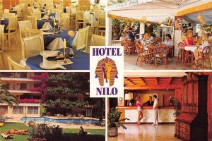 Spain Hotel Milo (pharaoh emblem) Paguera Mallorca different views