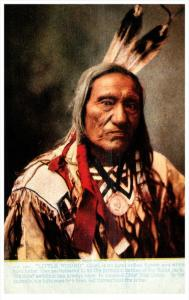 11230 Native American Indian  Chief Little Wound