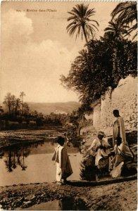 CPA Lehnert & Landrock 193 Riviere dans l'Oasis TUNISIE (873715)