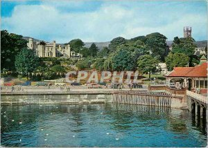 Postcard Modern Dunoon card from the Pier