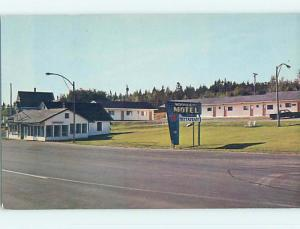 Unused Pre-1980 MOONLIGHT MOTEL & RESTAURANT Dumfries New Brunswick NB o0287-12
