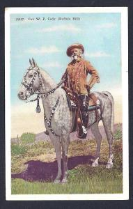 Col William 'Buffalo Bill' Cody on his Horse used c1936