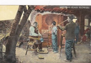 Mexico Mexican Glass Blowers Curteich sk2160a