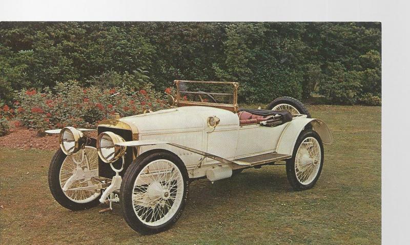 1912 Hispano-Suiza Post Card Montagu Motor Museum