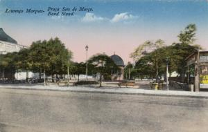 LOURENCO MARQUES , Mozambique , 1900-10s ;  Band Stand & street view