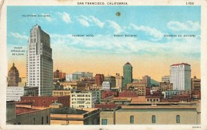 Postcard San Francisco California