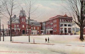 Massachusetts Springfield House Of Mercy Hospital 1909