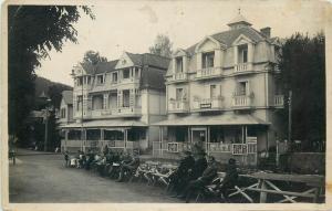 Romania Sovata 1940s photo postcard vila Dacia & Paris villa