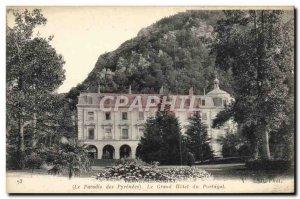 Old Postcard Vernet les Bains Le Paradis Des Pyrenees Grand Hotel Portugal