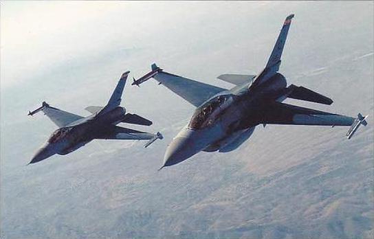 F-16D &  C FIGHTING FALCONS