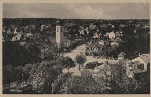 Planegg Bavaria Munich Aerial Old Real Photo German Postcard