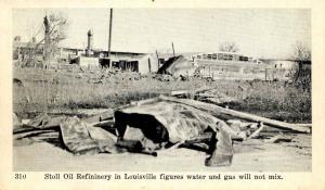 KY - Louisville. 1937 Flood. Stoll Oil Refinery