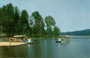 PA - Dover. Sightseeng Boats at Gifford Pinchot State Park