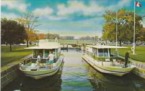 Canada Ontario Pleasure Craft On The Rideau Canal System