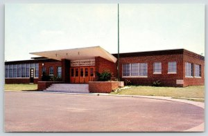 Levittown Pennsylvania~Covered Opening to John Fitch School~1952 Postcard