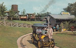 Six Flags over TEXAS, Chaparral Antique car ride , 50-60s