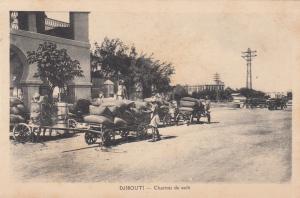 DJIBOUTI - Charrois de Cafe , 00-10s