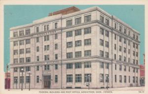 SASKATOON , Sask., Canada , 30-40s; Federal Building and Post Office