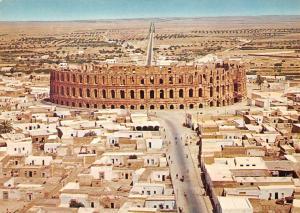 Tunisia El Jem The Colosseum Le Colisee Panorama