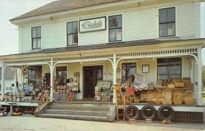 Barrington New Hampshire Calefs Famous Country Store Vintage Postcard K20710