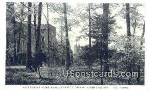 West Campus Scene, Duke University in Durham, North Carolina