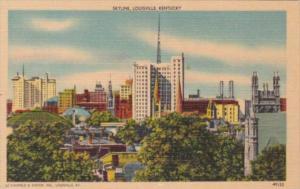 Kentucky Louisville Skyline View