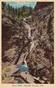 Colorado Colordao Springs Seven Falls South Cheyenne Canon