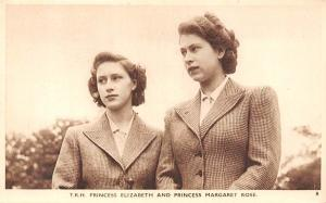 T.R.H. Princess Elizabeth II and Princess Margaret Rose Countess of Snowdon...