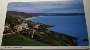 England the Coast at Woolacombe W.1419 Dennis - posted