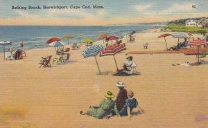 CAPE COD, Massachusetts, 1946;  Bathing Beach, Harwichport