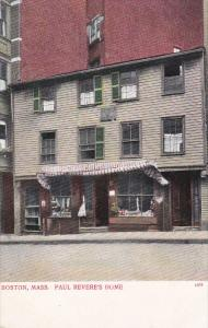 Paul Revere's Home, Boston, Massachusetts, 00-10s