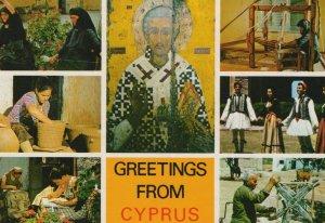 Cyprus Postcard - Greetings From Cyprus   RR9943