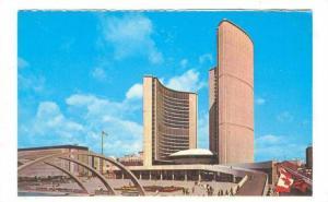 The New City Hall, Toronto, Ontario, Canada, 40-60s
