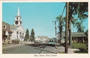 CAPE COD, Massachusetts, 1950s; Main Street, West Dennis, Classic Cars