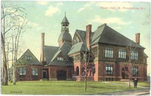 D/B Town Hall E. Providence Rhode Island RI 1912