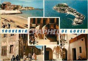 Modern Postcard from Goree Senegal Remembrance