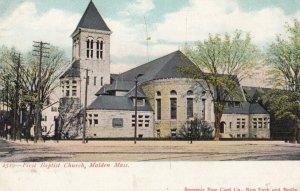 MALDEN , Massachusetts , 1901-07 ; First Baptist Church