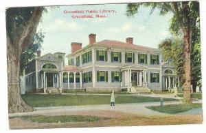 Greenfield Public Library, Greenfield, Massachusetts, 1900-1910s