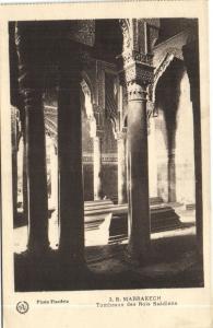 Maroc CPA Marrakech Tombeaux des Rois Saadiens Flandrin (37903)