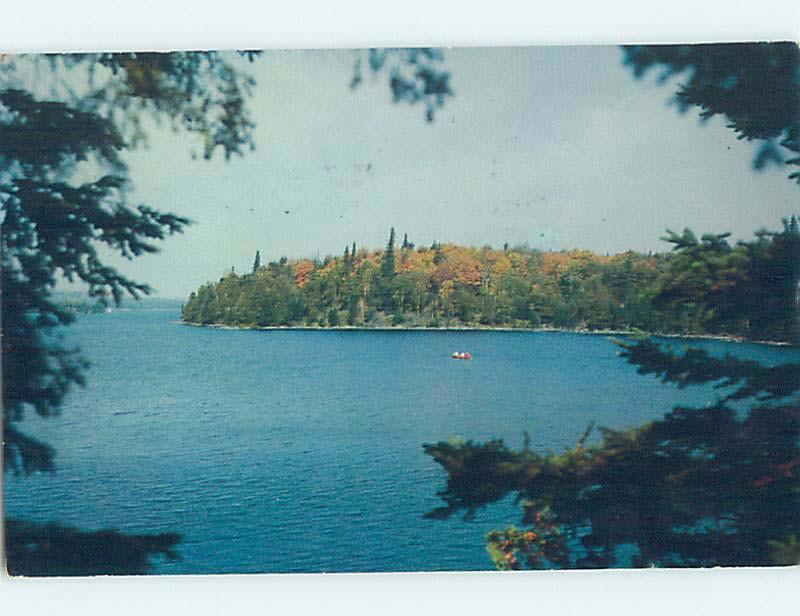 Pre-1980 SHORELINE SCENE Stephenville Newfoundland NL AD5613