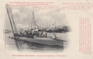 Contre-Torpilleur Durandal , Boulogne-sur-Mer , France , 00-10s #2